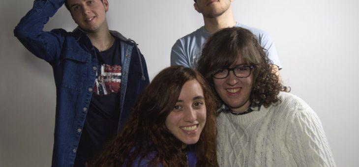 Foto grupal, Victor, Raquel, David y Timidaura
